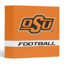 OSU Football 3 Ring Binder