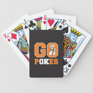 OSU Go Pokes Bicycle Playing Cards