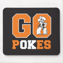 OSU Go Pokes Mouse Pad
