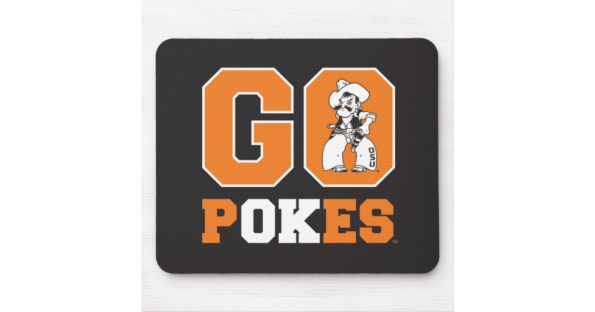 buy popular fd49d bc35e OSU Go Pokes Mouse Pad | Zazzle.com