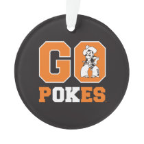 OSU Go Pokes Ornament