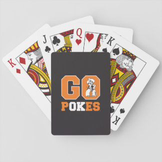OSU Go Pokes Playing Cards