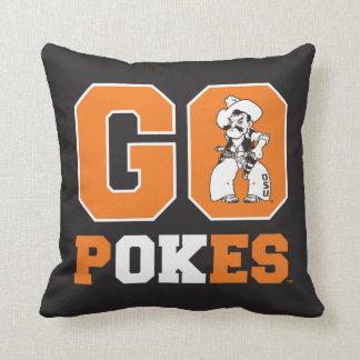 OSU Go Pokes Throw Pillow