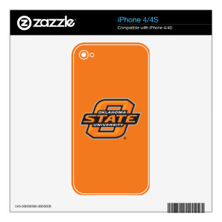 OSU Institutional Mark Decals For iPhone 4