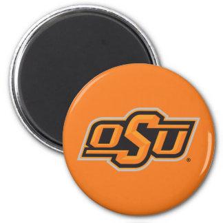 OSU Logo 2 Inch Round Magnet