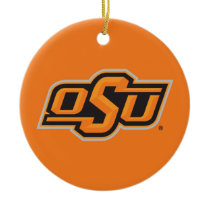 OSU Logo Ceramic Ornament