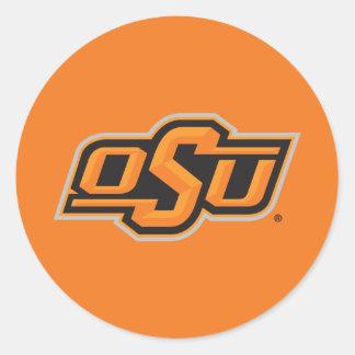 OSU Logo Classic Round Sticker
