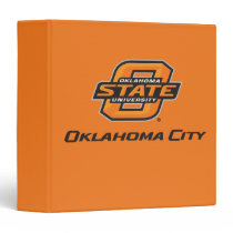 OSU Oklahoma City 3 Ring Binder