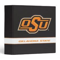 OSU Oklahoma State 3 Ring Binder