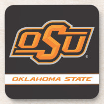 OSU Oklahoma State Beverage Coaster