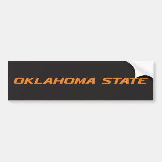 OSU Oklahoma State Bumper Sticker