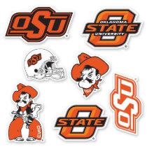 OSU Oklahoma State Logos Sticker