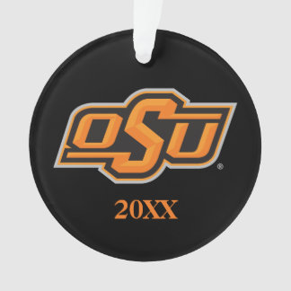 OSU Oklahoma State Ornament