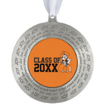 OSU Pistol Pete Class Year Pewter Ornament