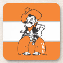 OSU Pistol Pete Drink Coaster