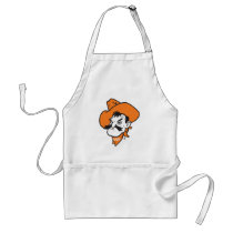 OSU Pistol Pete Head Adult Apron