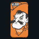 """OSU Pistol Pete Head Barely There iPhone 6 Case<br><div class=""""desc"""">Check out these official Oklahoma State University products! Personalize your own OSU Cowboy merchandise on Zazzle.com. These products are perfect for the OSU student,  alumni,  or fan in your life.</div>"""