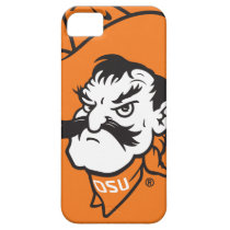 OSU Pistol Pete Head iPhone SE/5/5s Case