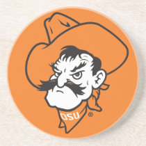 OSU Pistol Pete Head Coaster