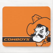 OSU Pistol Pete Head Mouse Pad