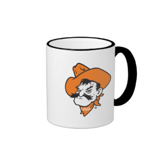 OSU Pistol Pete Head Ringer Coffee Mug