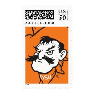 OSU Pistol Pete Head Postage