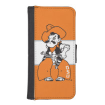 OSU Pistol Pete Wallet Phone Case For iPhone SE/5/5s