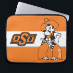 """OSU Pistol Pete Laptop Sleeve<br><div class=""""desc"""">Check out these official Oklahoma State University products! Personalize your own OSU Cowboy merchandise on Zazzle.com. These products are perfect for the OSU student,  alumni,  or fan in your life.</div>"""