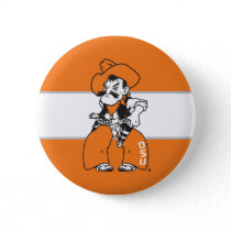 OSU Pistol Pete Pinback Button