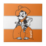 """OSU Pistol Pete Tile<br><div class=""""desc"""">Check out these official Oklahoma State University products! Personalize your own OSU Cowboy merchandise on Zazzle.com. These products are perfect for the OSU student,  alumni,  or fan in your life.</div>"""