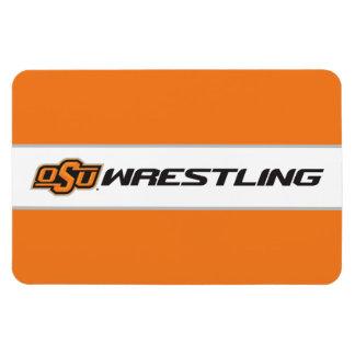 OSU Wrestling Rectangular Photo Magnet