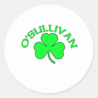 O'Sullivan Classic Round Sticker