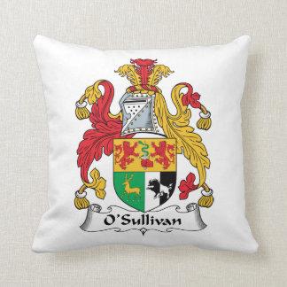 O'Sullivan Family Crest Pillow