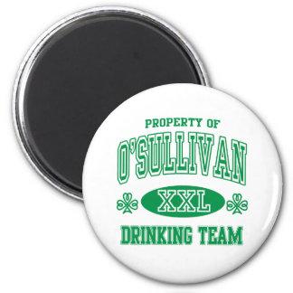 O'Sullivan Irish Drinking Team Magnet