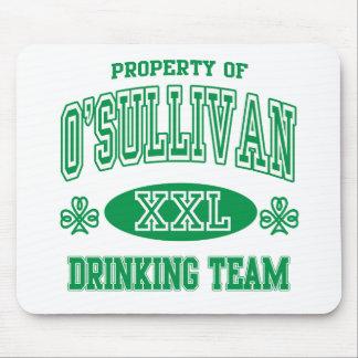 O'Sullivan Irish Drinking Team Mouse Pad