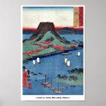 osumi por Ando, Hiroshige Ukiyoe Impresiones
