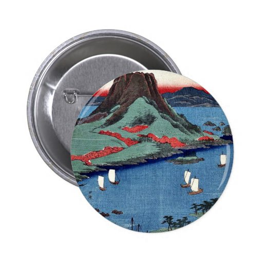 osumi por Ando, Hiroshige Ukiyoe Pins