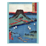 osumi por Ando, Hiroshige Ukiyoe Postal