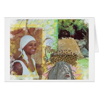 Osun in the Desert Note Card
