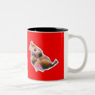 osutorariagamaguchiyotaka Two-Tone coffee mug