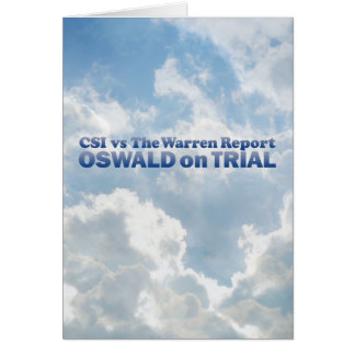 Oswald on Trial - Mult-Products Card