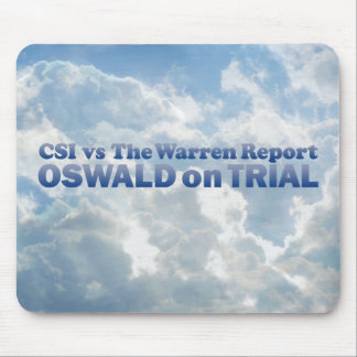 Oswald on Trial - Mult-Products Mouse Pad