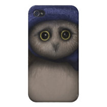 Oswald the Sad Owl Cover For iPhone 4