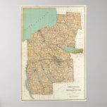 Oswego, Cayuga, condados del Onondaga Póster
