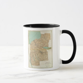 Oswego, Cayuga, Onondaga counties Mug