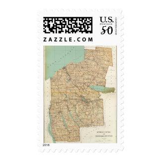 Oswego, Cayuga, Onondaga counties Postage
