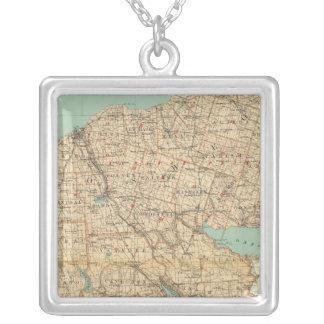 Oswego, Cayuga, Onondaga counties Silver Plated Necklace
