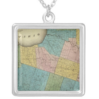 Oswego County Silver Plated Necklace