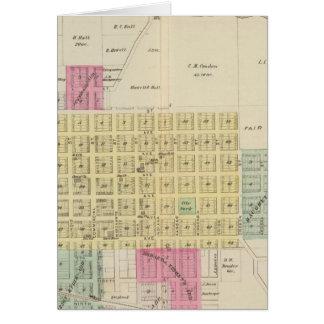 Oswego, Neosho Falls, Havens, and Butler, Kansas Card