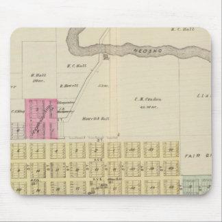 Oswego, Neosho Falls, Havens, and Butler, Kansas Mouse Pad